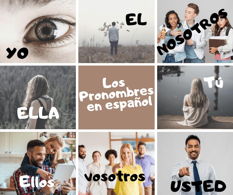 los pronombres en español